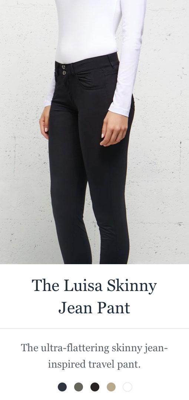 Shop the Luisa Skinny Jean Pant
