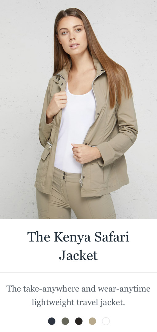 Shop the Kenya Safari Jacket