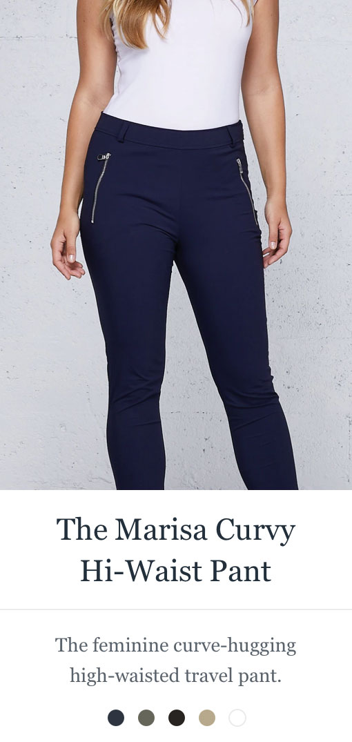 Shop the Marisa Curvy Hi-Waist Pant
