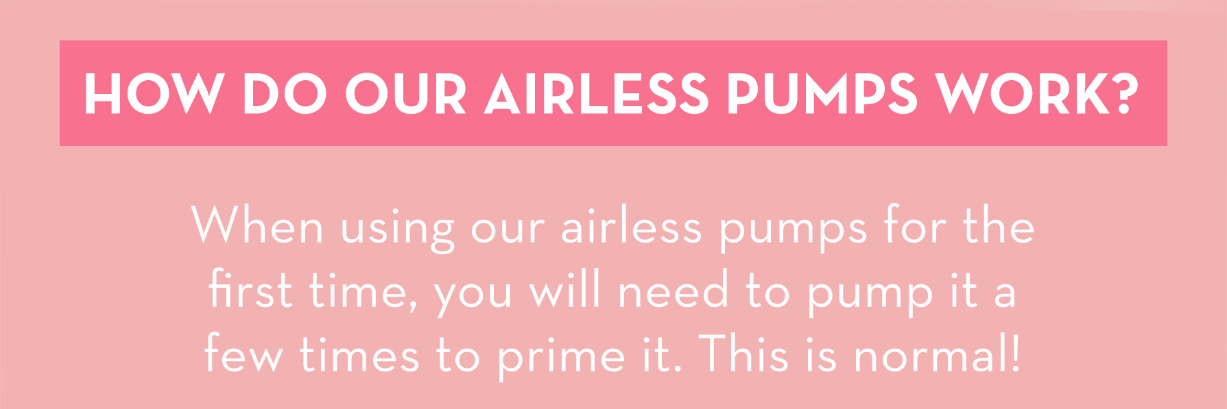 How Do Airless Pumps Work