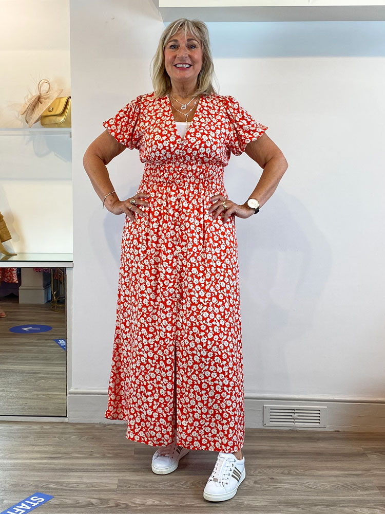 london-sienna-floral-dress-red