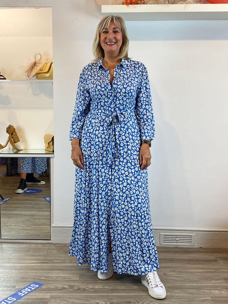 x-london/products/x-london-button-dress-blue-flowers