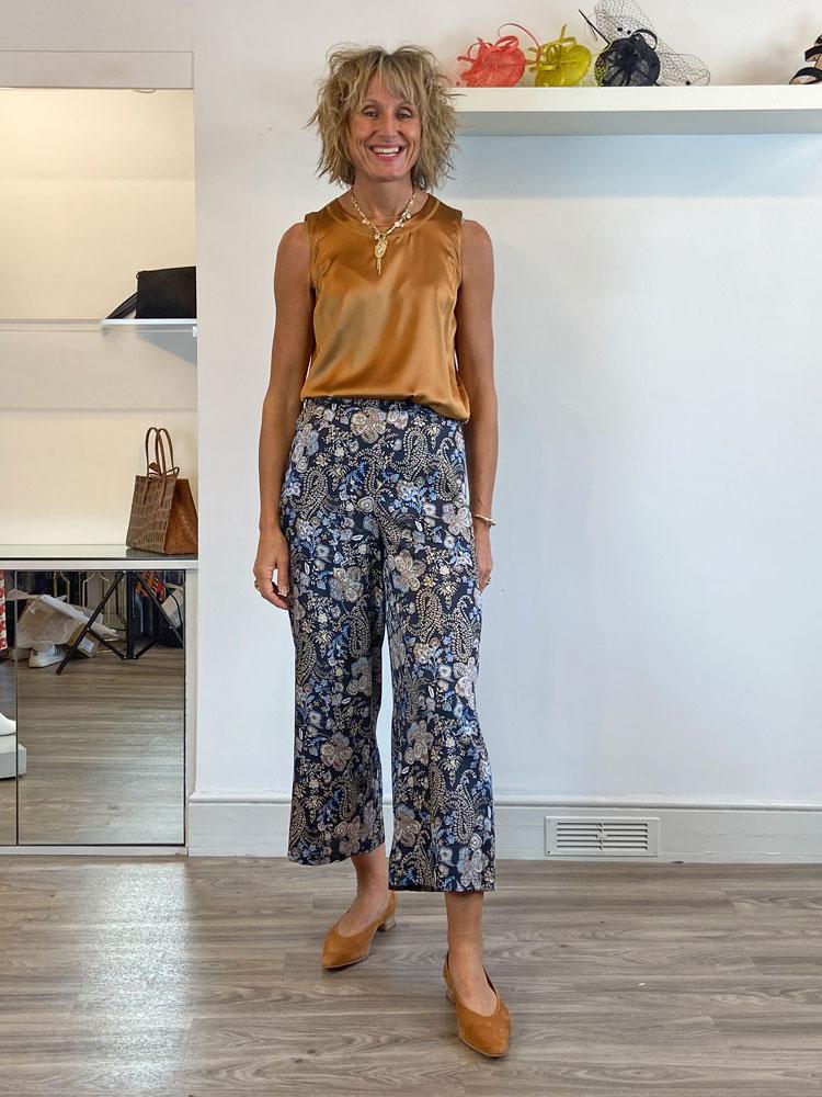 emme-marella-sovrana-printed-trousers-black