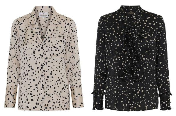 karmamia-dot-ruffle-shirt-black
