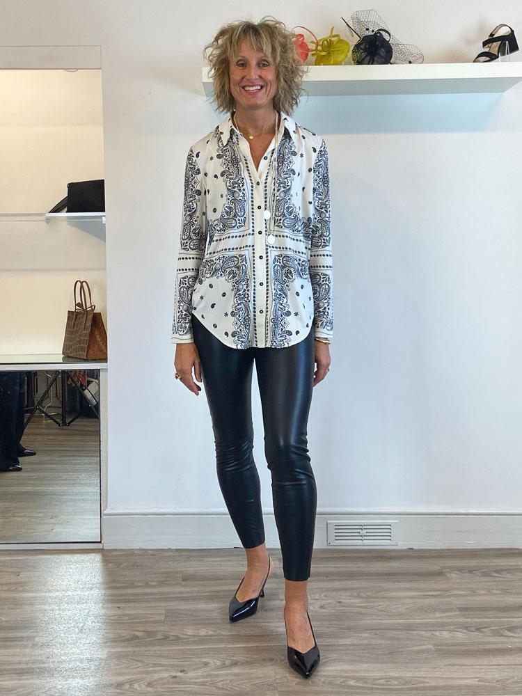 oui-blouse-stone-grey