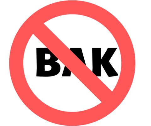 BAK is BAD