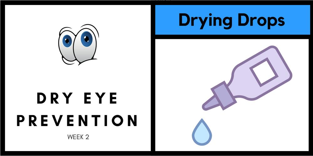 Drying Eye Drops