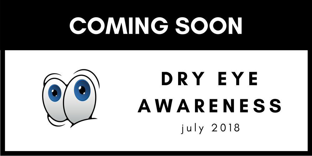 Dry Eye Awareness Month