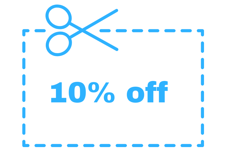 June 10% coupon