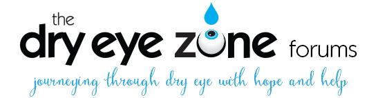 Dry Eye Zone Forums
