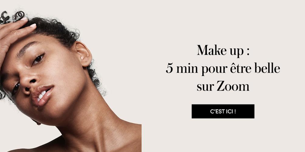 conseils maquillage pour être belle sur Zoom
