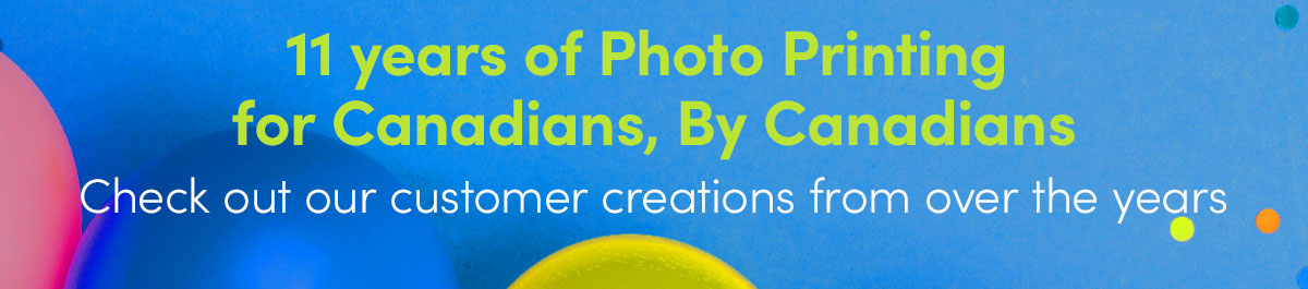 Celebrating 11 years of Photo Printing