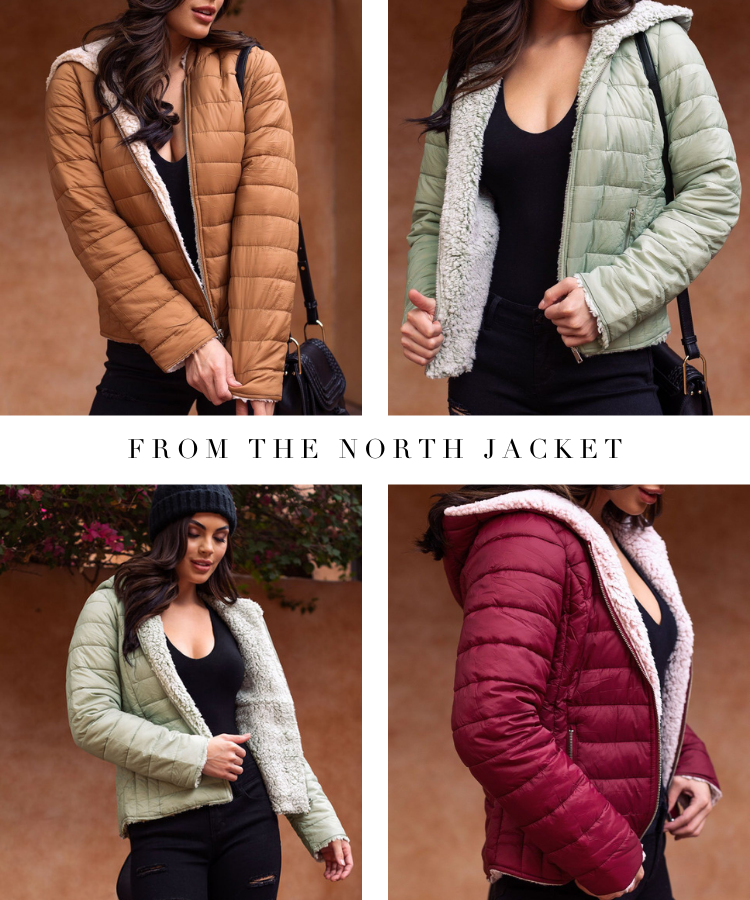 From The North Puffy Jacket