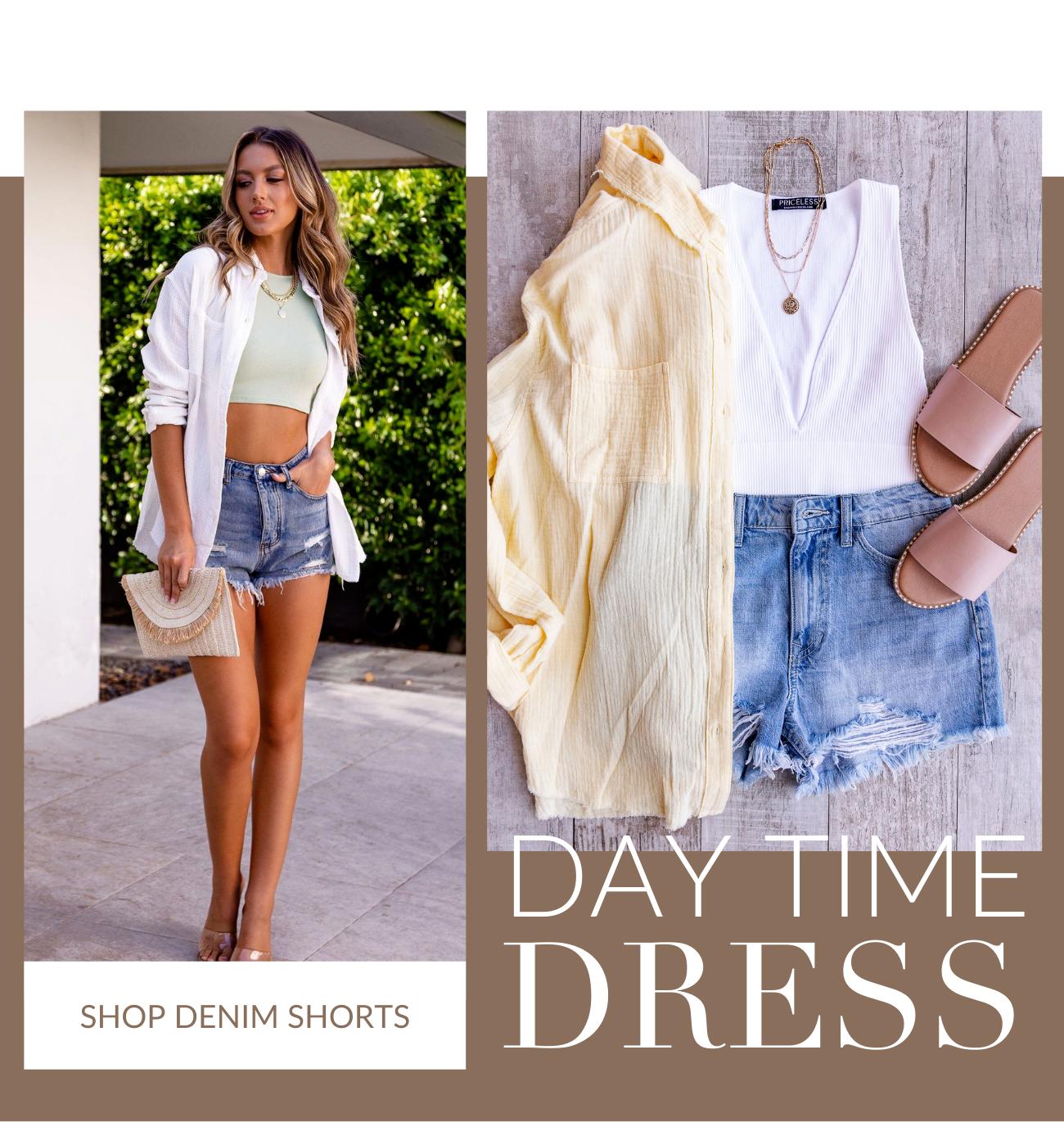 Shop Denim Shorts