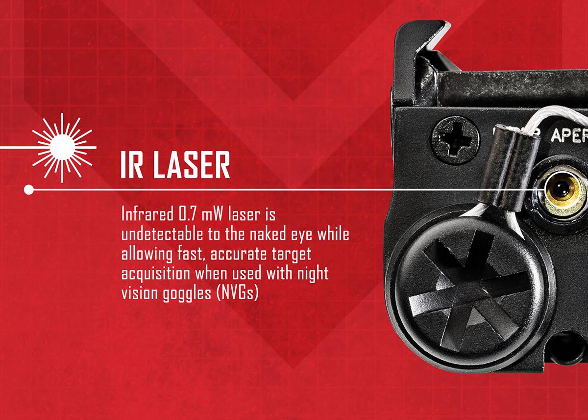 SureFire XC2-IRC - Ultra Compact LED Handgun Illuminator & Laser Sight