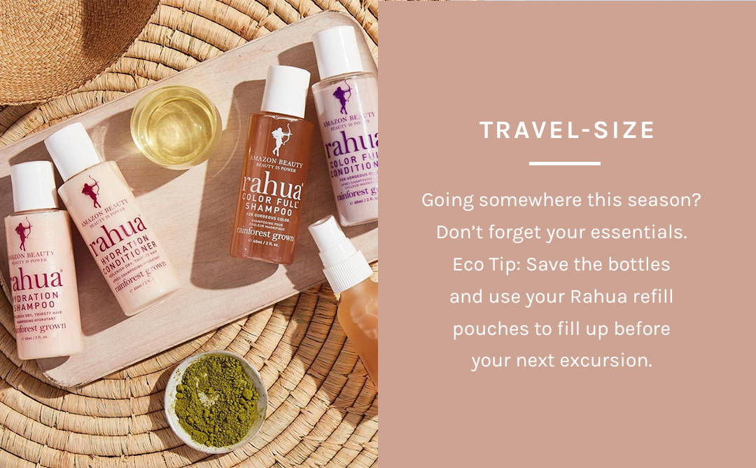 Shop Travel-Size Shampoo + Conditioner by Rahua at Petit Vour