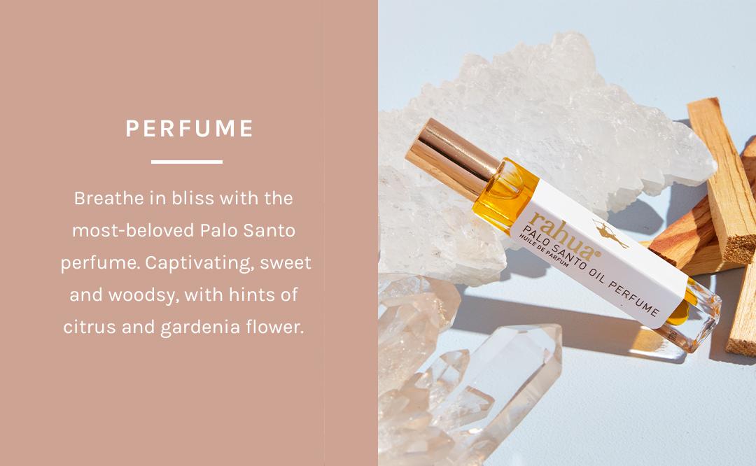 Shop Palo Santo Oil Perfume by Rahua at Petit Vour