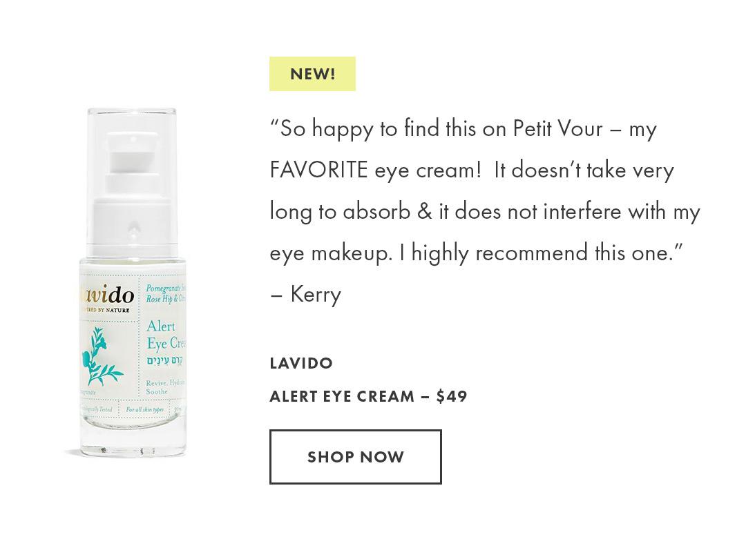 Shop the Lavido Alert Eye Cream