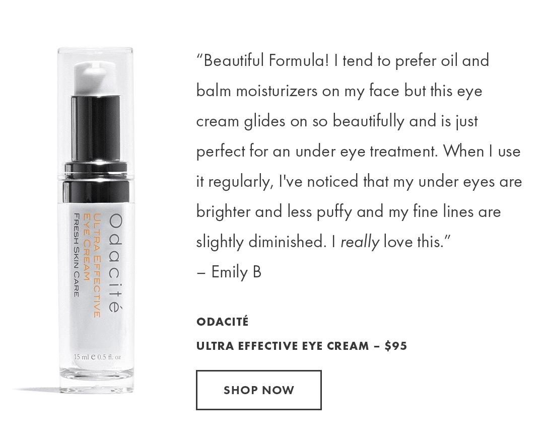 Shop the Ultra Effective Eye Cream