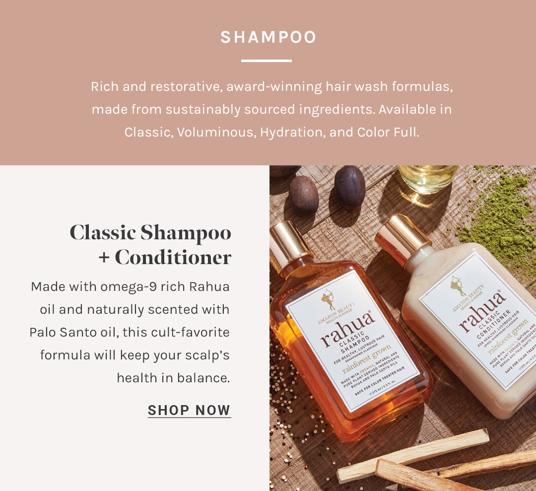 Shop Classic Shampoo + Conditioner by Rahua at Petit Vour