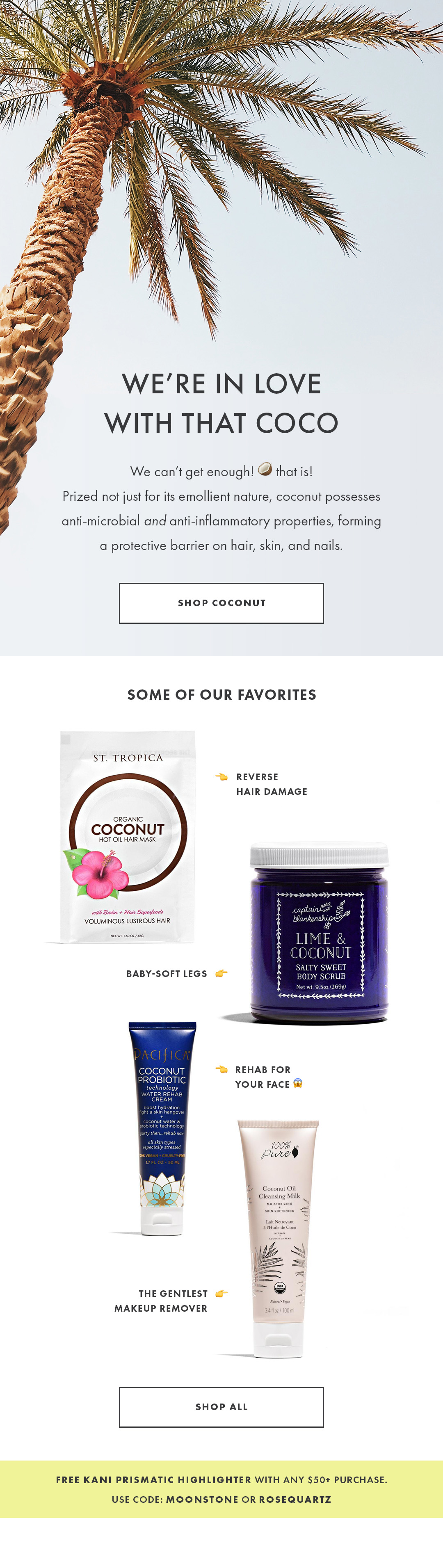 Shop All Coconut