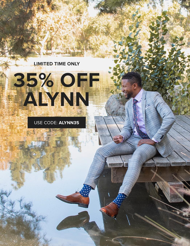 35% Off Alynn w/ code ALYNN35