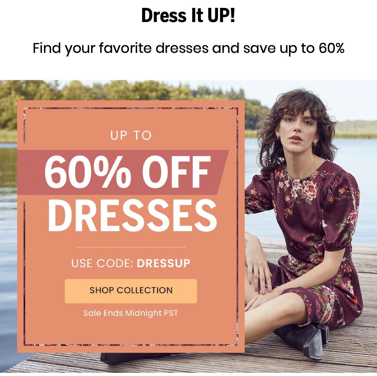 Shop Dress Sale