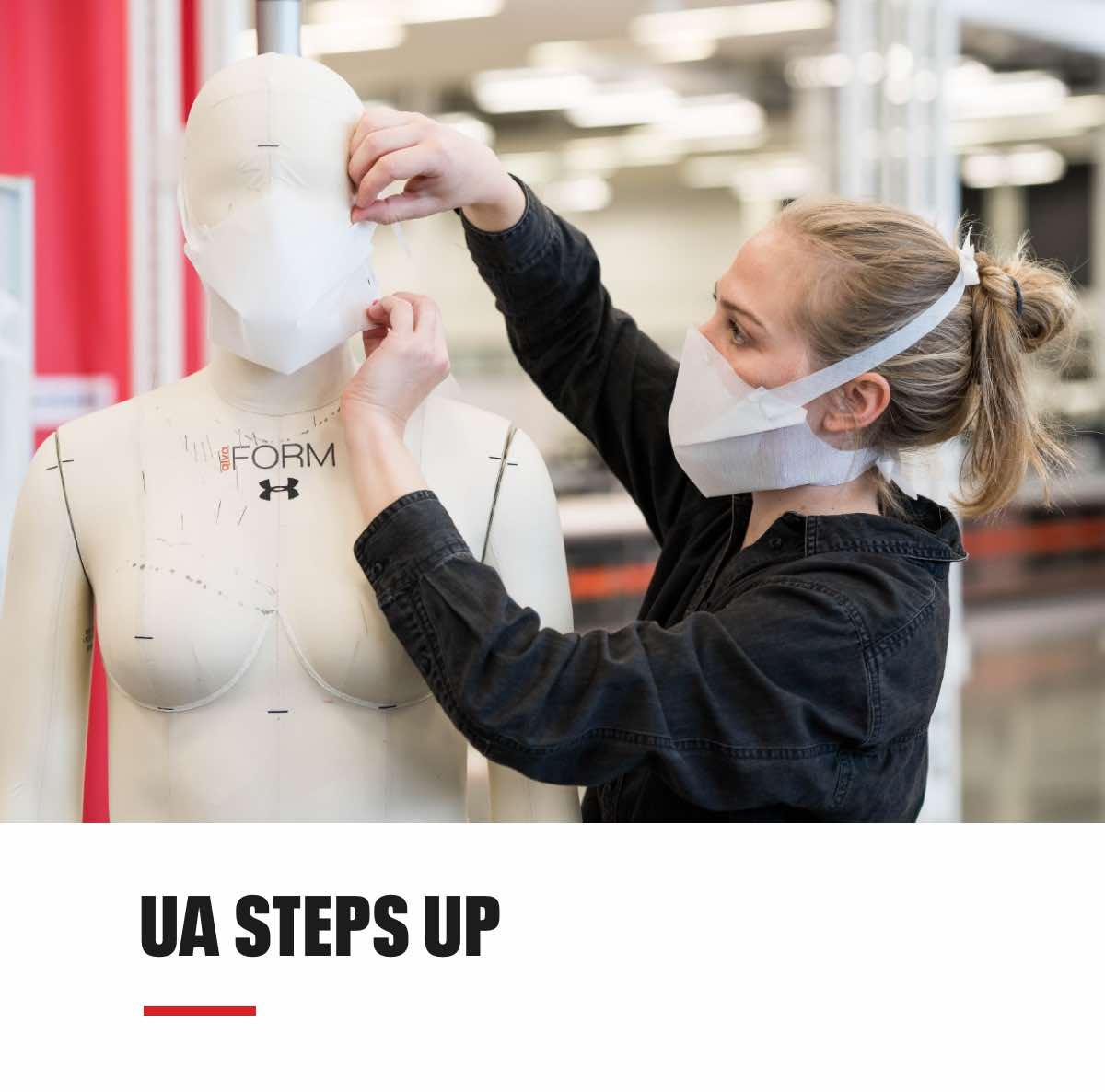 UA Steps Up
