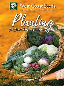 West Coast Seeds Planting for Fall & Winter Harvests Guide Cover