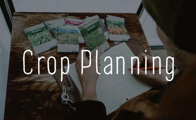 West Coast Seeds Crop Planning