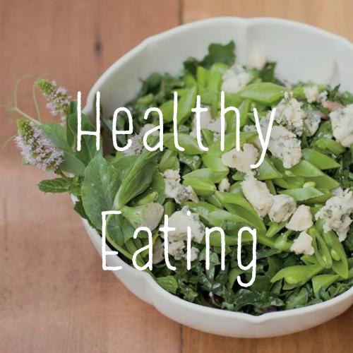 Minted Kale, Peas & Blue Cheese Salad Recipe