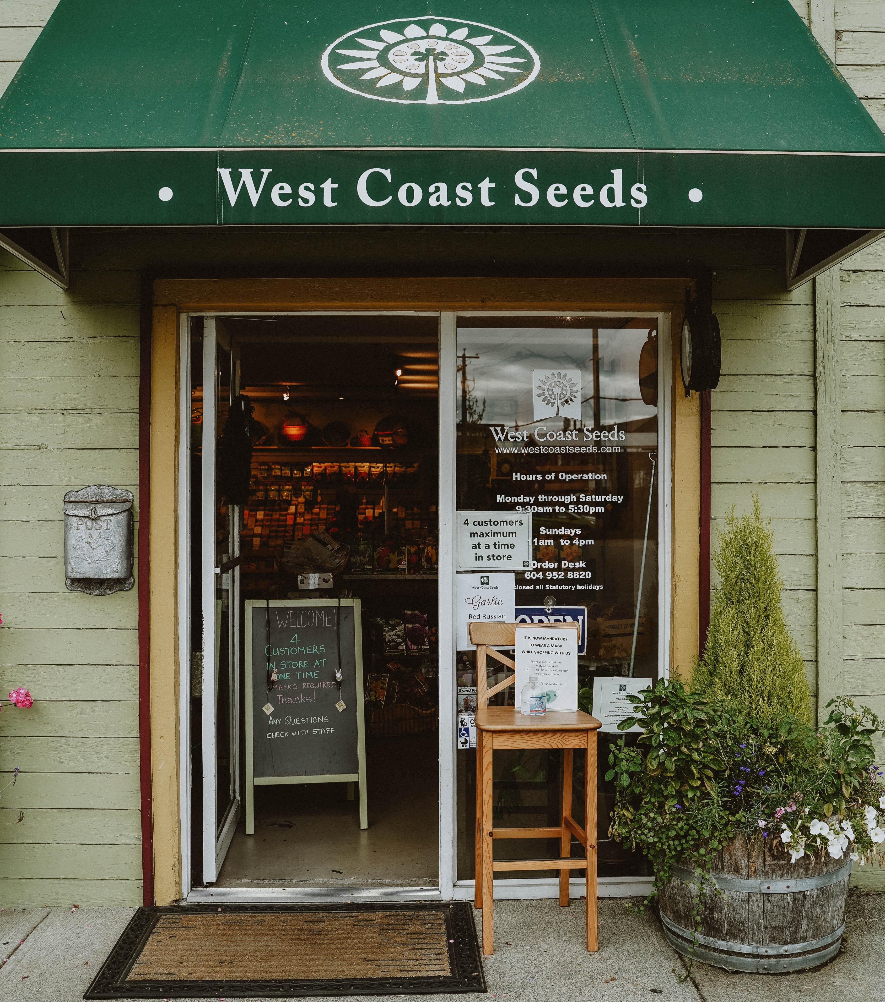 West Coast Seeds Store