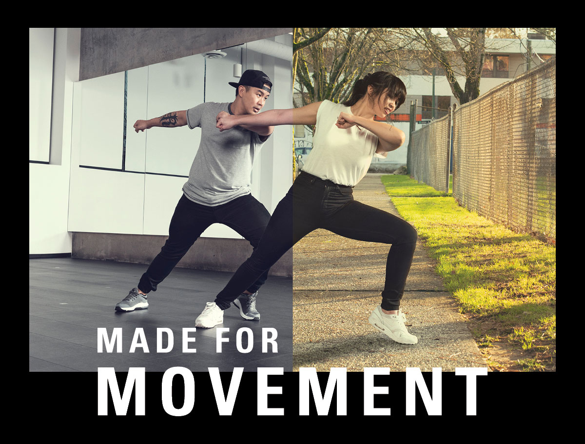 Made for Movement.
