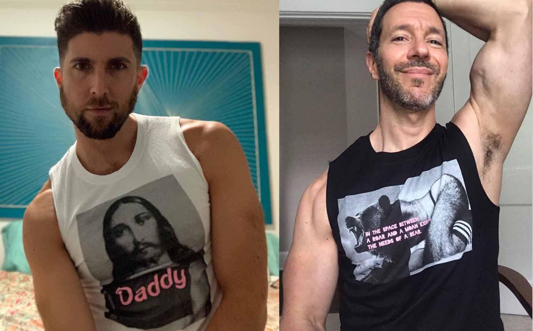 Jesus daddy growling bear jock