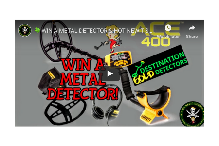 Win The ACE 400 Metal Detector