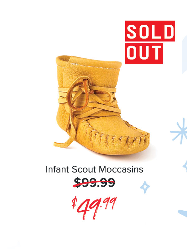 Infant Scout Moccasins