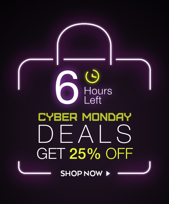 Email Exclusive Cyber Monday Deals 6 Hours Left
