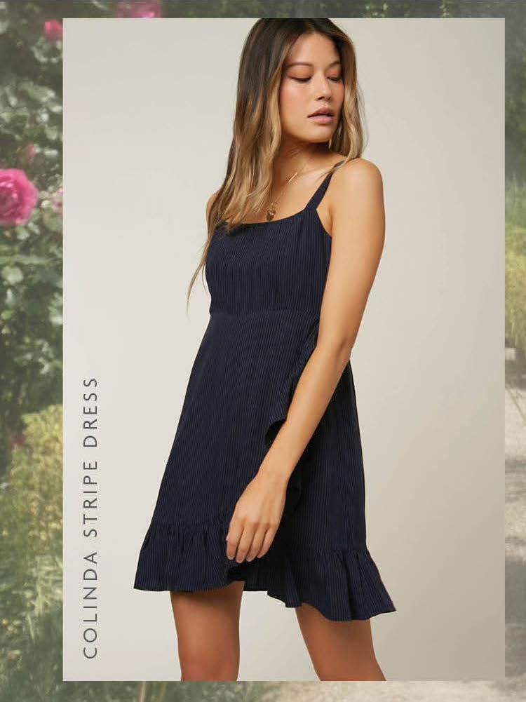 Colinda Stripe Dress