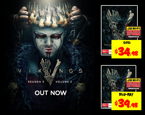 ▷ Vikings - Season 5 Vol 2 & Mayans Season 1 Out Now •