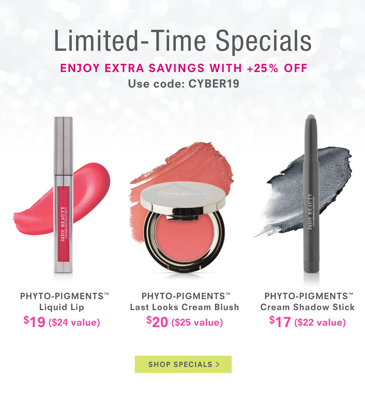 Limited-Time Specials - Enjoy Extra Savings