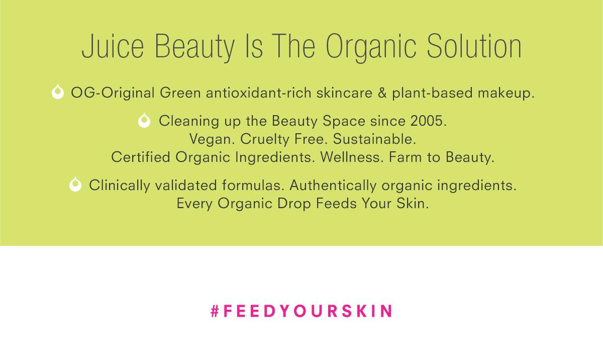 Juice Beauty Eco Values