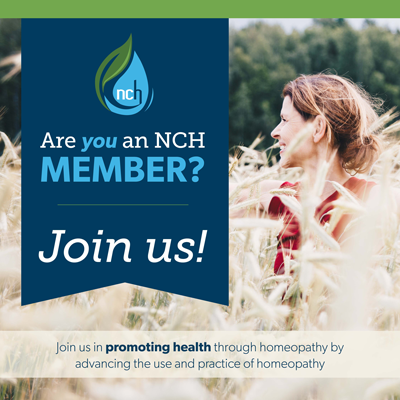 National Center for Homeopathy (NCH) Join Button