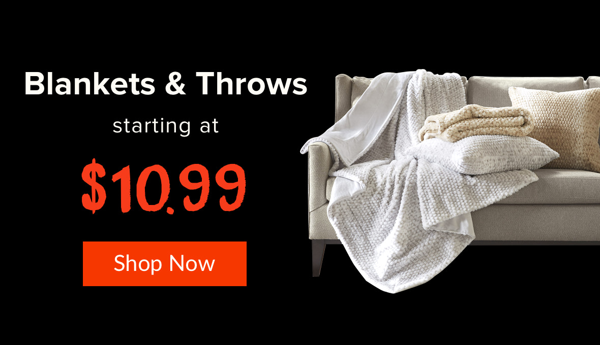 Black friday blankets and throws