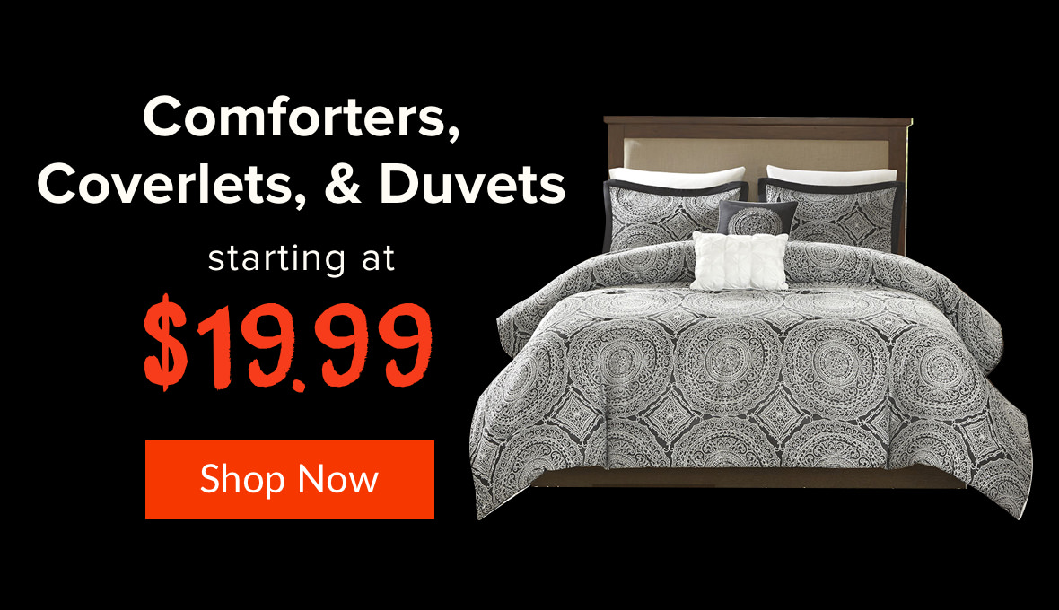 black friday comforters duvets coverlets