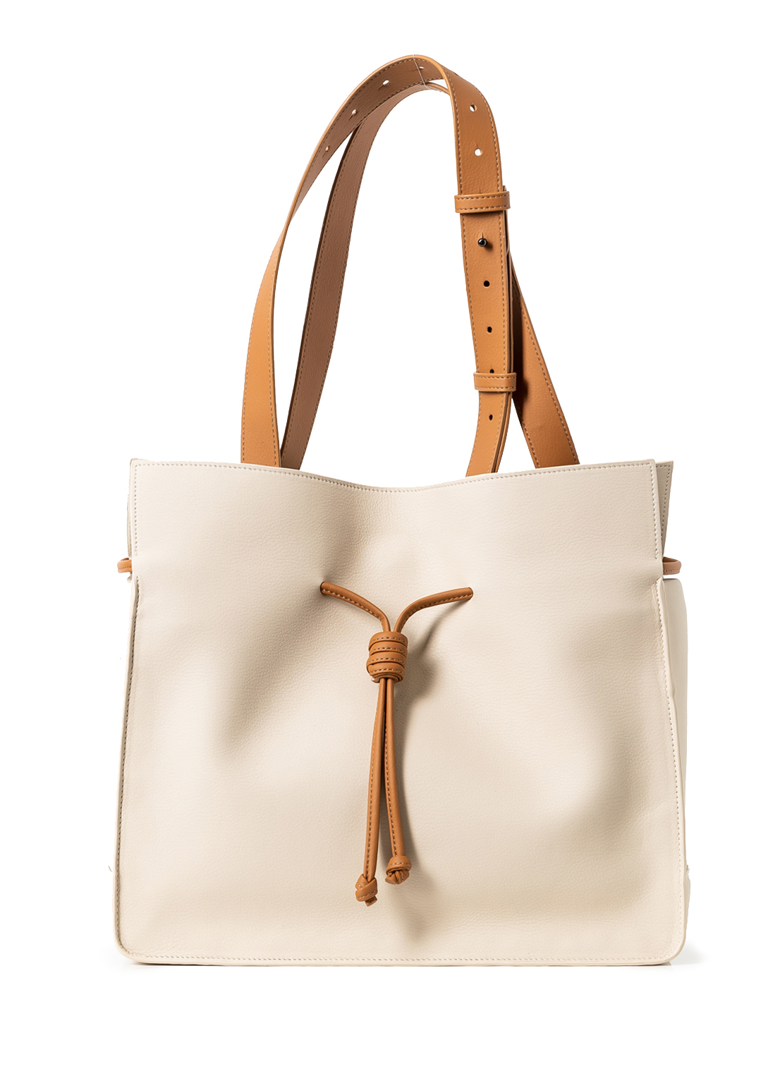 The Medium Shopper in Oat & Caramel