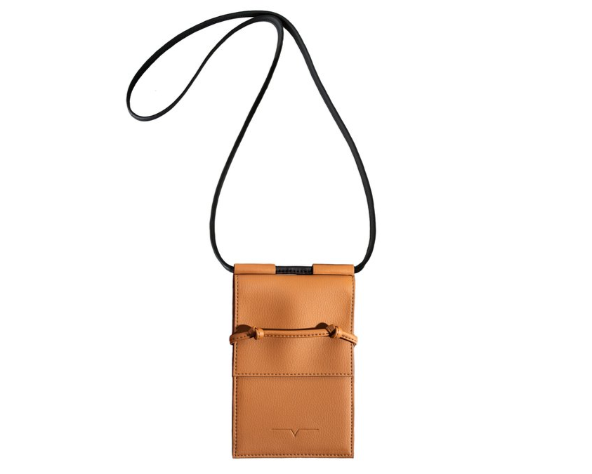 The Micro Bag in Caramel
