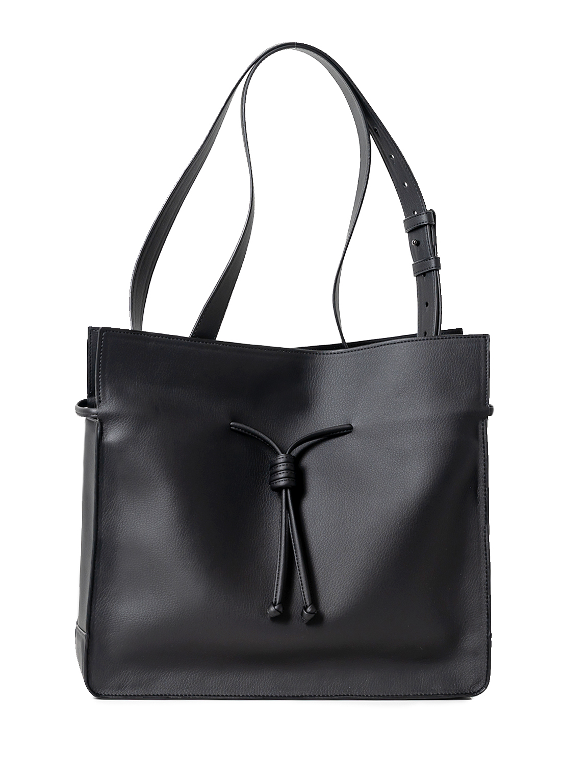 The Medium Shopper in Black
