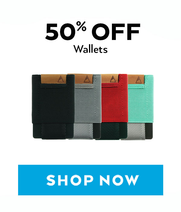 50% Off Wallets