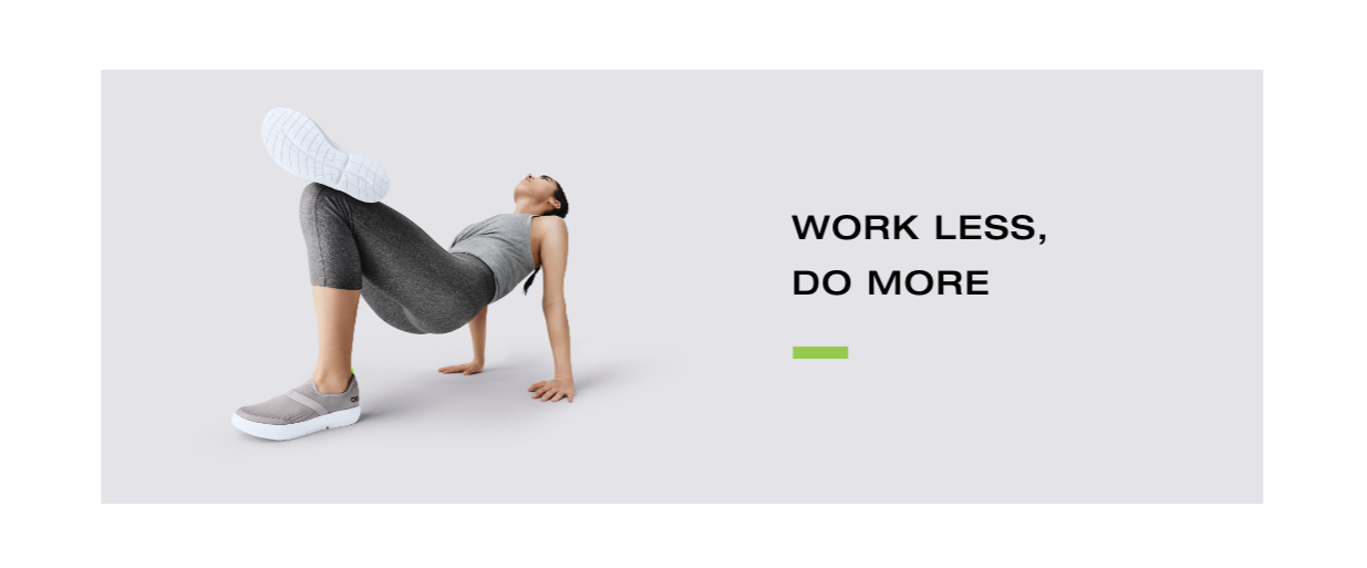 Work less, do more.