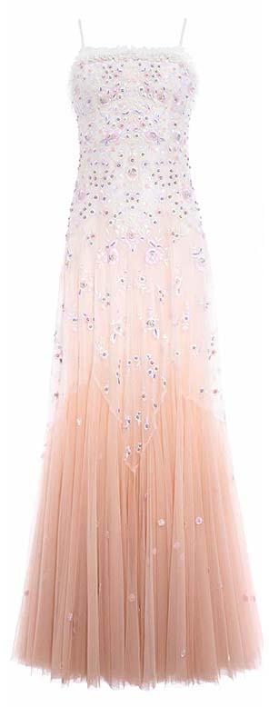 Pearl Rose Cami Bridal Gown